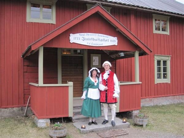 Bellman och Ulla Wijnbladh